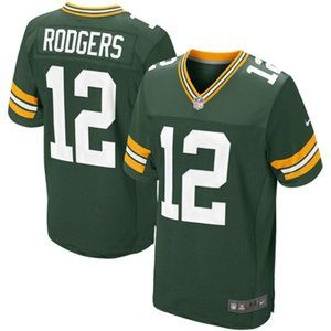 Green Bay Packers Aaron Rodgers 12  Green Jersey